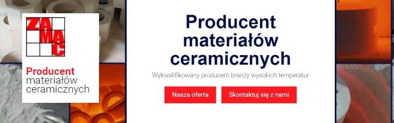 Zamac - zakład materiałów ceramicznych
